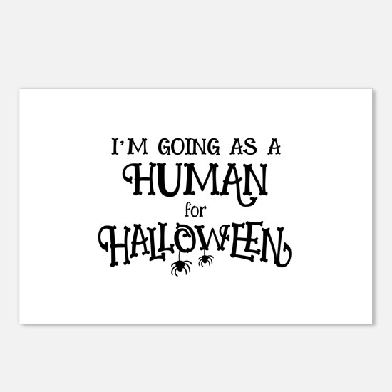 Human Costume Postcards (Package of 8)