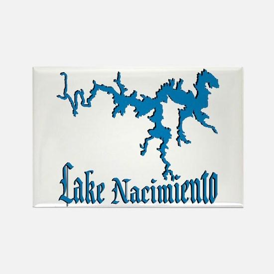 NACI_11_BLUE Rectangle Magnet