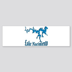 NACI_11_BLUE Bumper Sticker