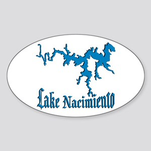 NACI_11_BLUE Oval Sticker
