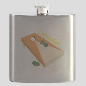 Cornholer Flask
