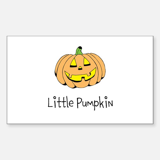 Little Pumpkin Decal