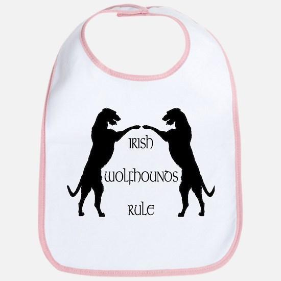 Irish Wolfhounds Rule Bib