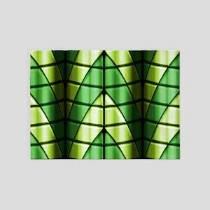 Superheroes - Green 5'x7'Area Rug