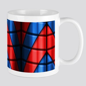 Superheroes - Red Blue Mug