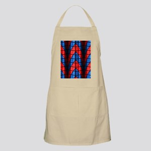 Superheroes - Red Blue Apron