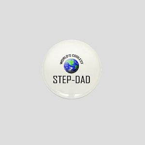 World's Coolest STEP-DAD Mini Button