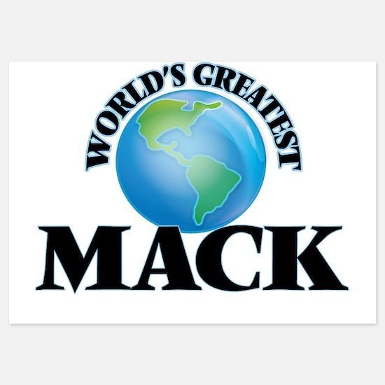 World's Greatest Mack Invitations