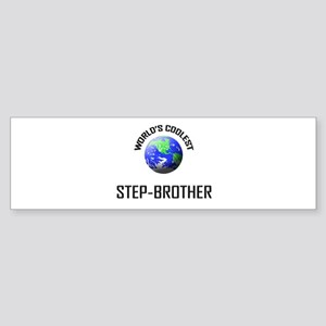 World's Coolest STEP-BROTHER Bumper Sticker