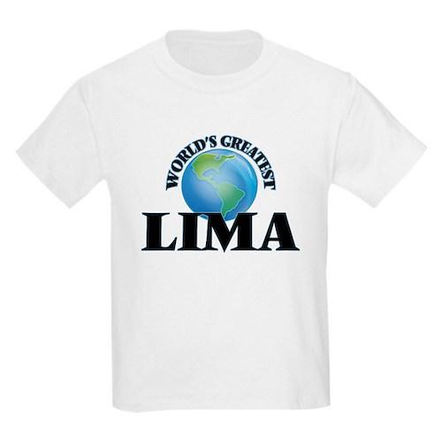 World's Greatest Lima T-Shirt