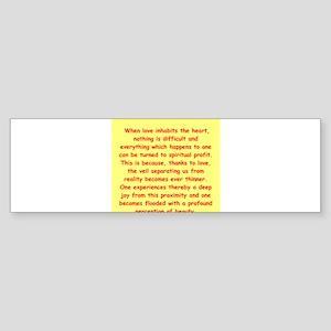 20 Sticker (Bumper)