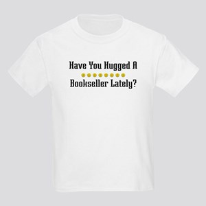 Hugged Bookseller Kids Light T-Shirt