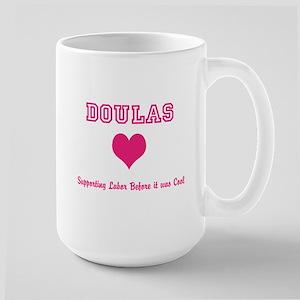 Doula Support Large Mug Mugs