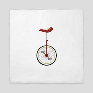 Unicycle Queen Duvet