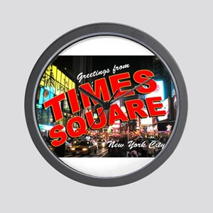 Greetings from New York City Wall Clock