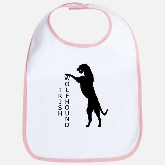 Tall Irish Wolfhound Bib