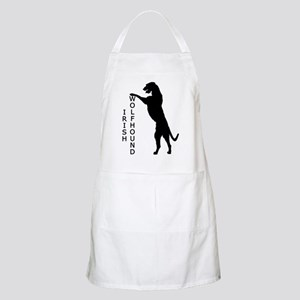 Tall Irish Wolfhound BBQ Apron
