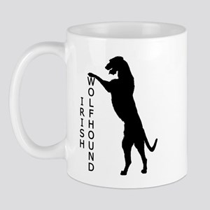 Tall Irish Wolfhound Mug