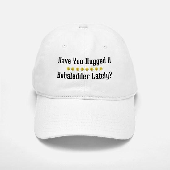 Hugged Bobsledder Baseball Baseball Cap