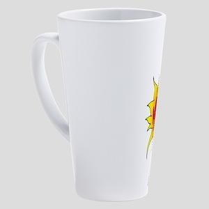 Mexican 17 Oz Latte Mug