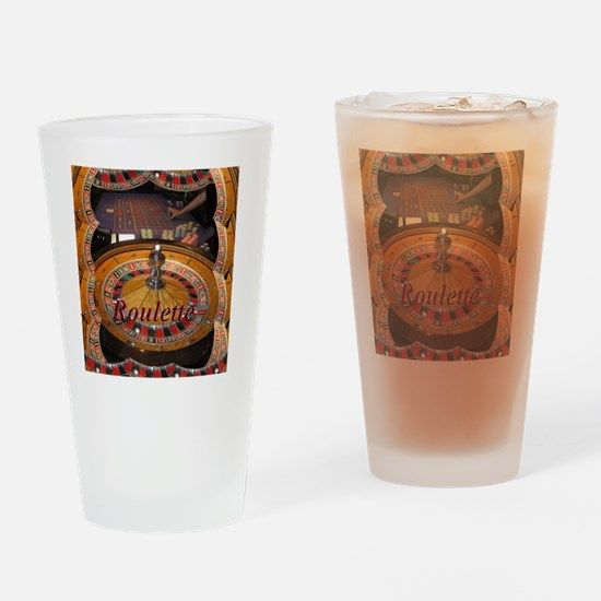 casino roulette table montage Drinking Glass