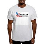 American Ground fighter light teeshirt