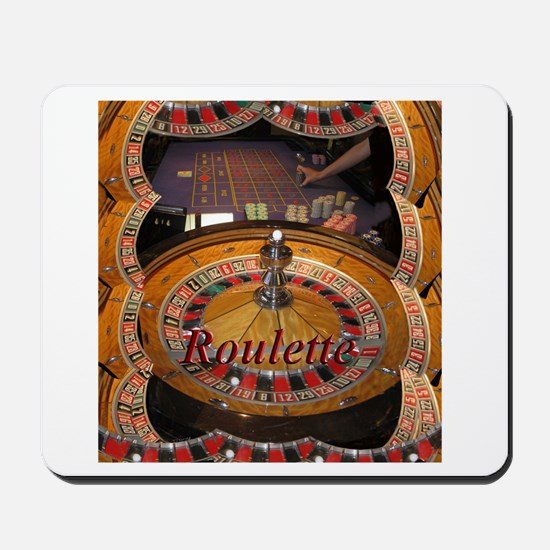 casino roulette table montage Mousepad