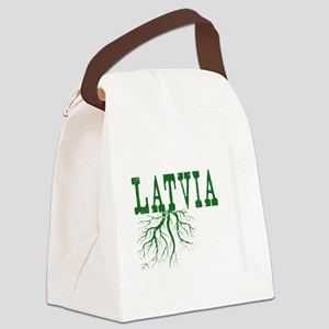 Latvia Roots Canvas Lunch Bag