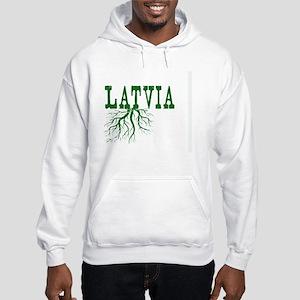 Latvia Roots Hooded Sweatshirt