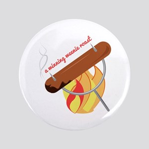 "Weenie Roast 3.5"" Button"