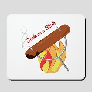 Sizzle Stick Mousepad