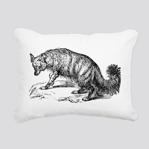 aardwolf Rectangular Canvas Pillow