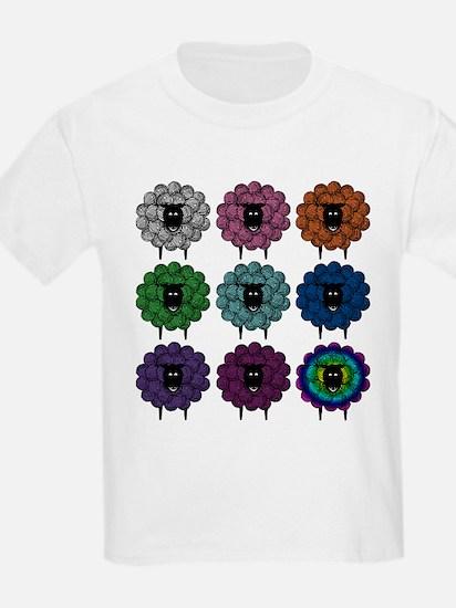 A Rainbow of Sheep T-Shirt