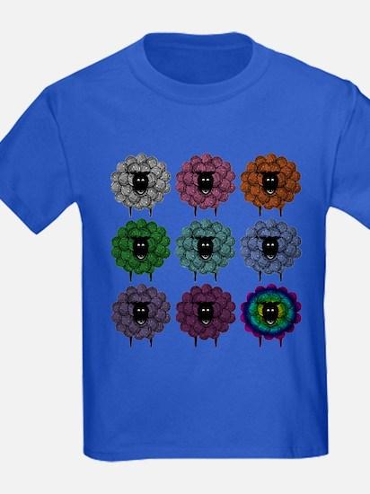 A Rainbow of Sheep T