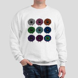 A Rainbow of Sheep Sweatshirt