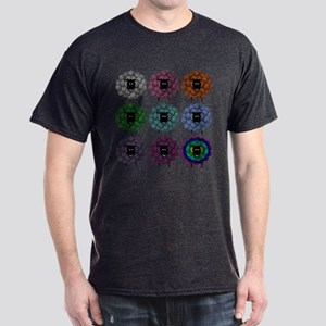 A Rainbow of Sheep Dark T-Shirt
