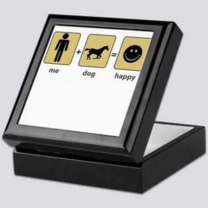 Me + Horse = Happy Keepsake Box