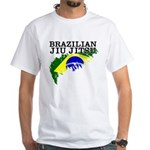 Brazilian Ju Jitsu (BJJ) t-shirt - Flag of Brazil
