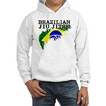 Brazilian flag BJJ Hooded Sweatshirt