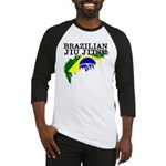 Brazilian flag BJJ baseball shirt