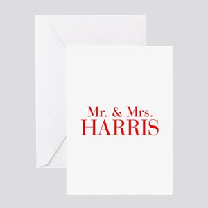 Naming ceremony greeting cards cafepress mr mrs harris bod red greeting cards m4hsunfo