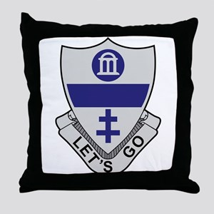 325th Infantry Regiment Throw Pillow