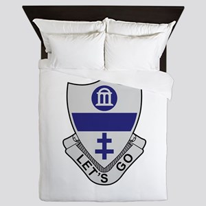 325th Infantry Regiment Queen Duvet