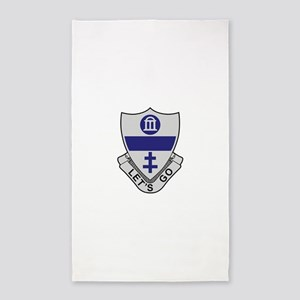325th Infantry Regiment 3'x5' Area Rug
