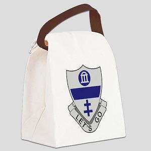 325th Infantry Regiment Canvas Lunch Bag