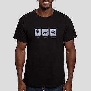 Man Plus Dog Equals Happy T-Shirt