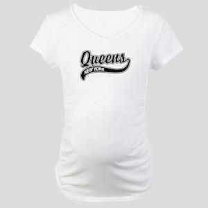 Queens New York Maternity T-Shirt