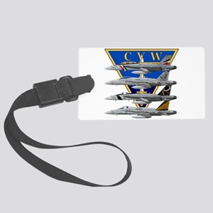 CVW-2_CARRIER_f18_hornet Large Luggage Tag