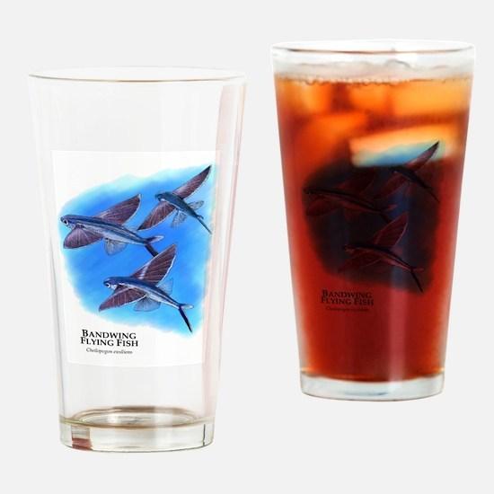 Bandwing Flying Fish Drinking Glass
