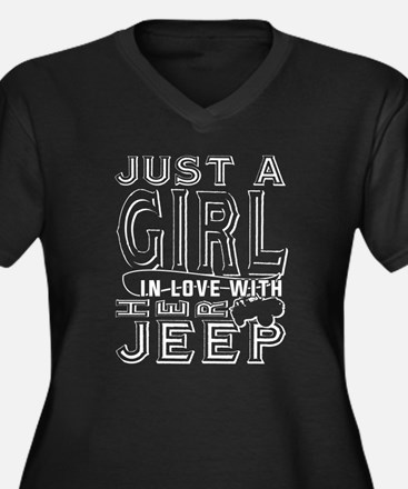 Just A Girl In Love With Her Jee Plus Size T-Shirt